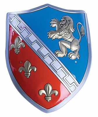 Knight Fleur De Lys Shield