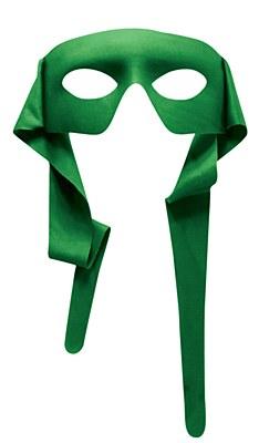 Bandit Zorro Green Eyemask