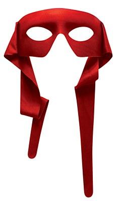 Bandit Zorro Red Eyemask