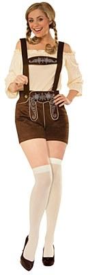 Lederhosen Female Adult Costume