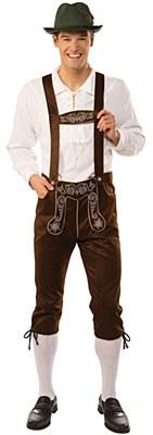 Lederhosen Male Adult Costume