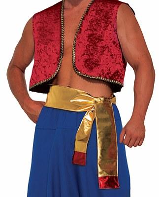 Desert Prince Aladdin Gold Sash