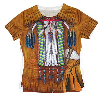 Young Indian Brave Boy Child Shirt