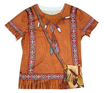 Young Indian Princess Girl Child Shirt