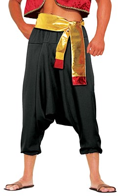 Desert Prince Adult Black Pants