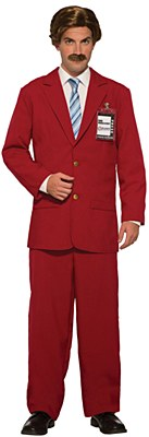 Anchorman Ron Burgundy Adult Costume