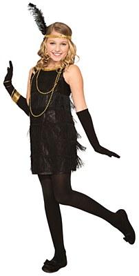 Roaring 20's Flapper Child Costume