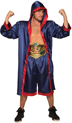 Boxer Blue Robe Adult Costume