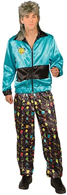 80's Man Track Suit Adult Costume