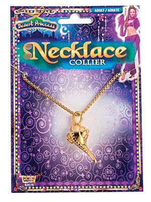 Genie Lamp Charm Necklace