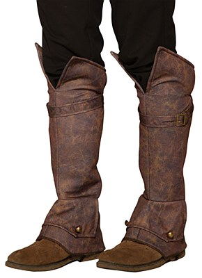 Pirate / Desert Prince Suede Boot Tops
