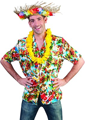 Hawaiian Paradise Adult Shirt