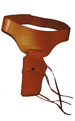 Deluxe Single Leather Holster
