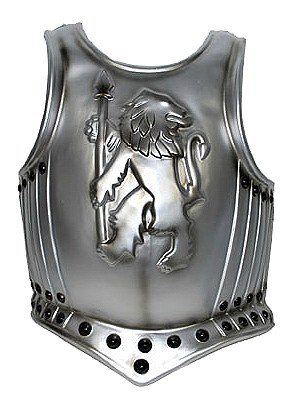 Knight Lion Emblem Breastplate