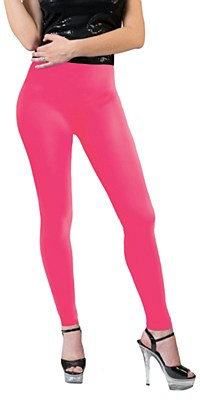 Neon Pink Leggings Adult Pants