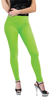 Neon Green Leggings Adult Pants