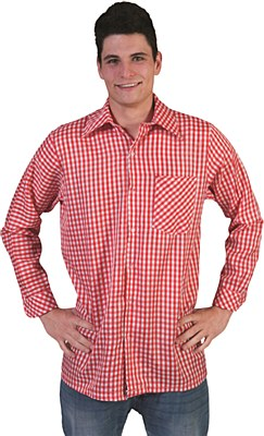 Checkered Button Front Shirt