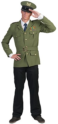 Commander Carl Adult Costume