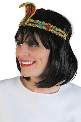 Cleopatra Cobra Headband