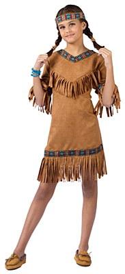 Native American Indian Child Costume