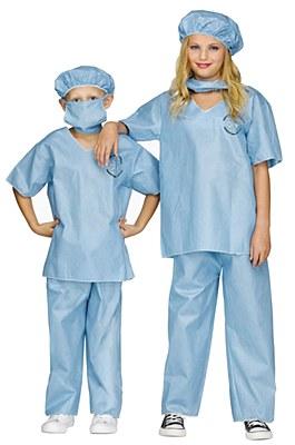 Doctor's Scrubs Child Costume