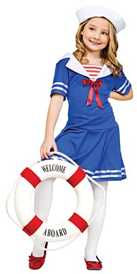 Sea Sweetie Sailor Child Costume