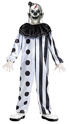 Killer Clown Child Costume