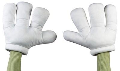 Cartoon Padded Adult Gloves