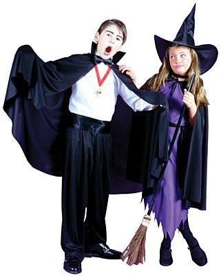 Vampire Fabric Child Cape