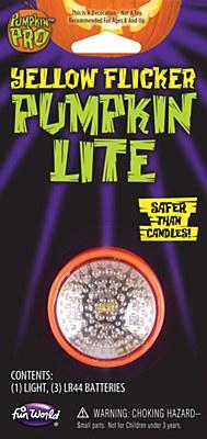 Yellow Flicker Pumpkin Lite