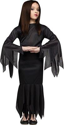 Morticia Child Costume