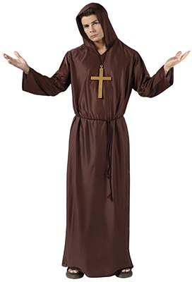 Monk Robe Adult Costume