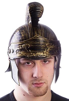 Roman Deluxe Plastic Brush Helmet