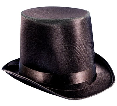 Extra Large Black Top Hat