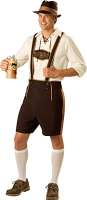 Bavarian Guy Adult Costume