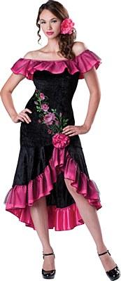 Flirty Flamenco Senorita Adult Costume
