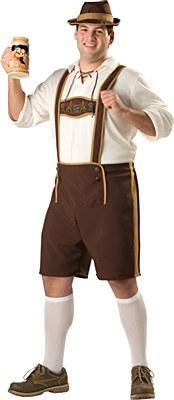 Bavarian Guy Adult Plus Costume