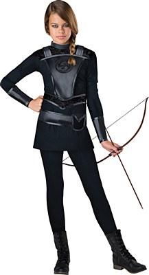 Warrior Huntress Child Costume