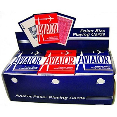Aviator Plastic Playing Cards - Single Pack