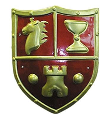 Medieval Crest Shield
