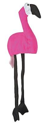 Velvet Flamingo Hat