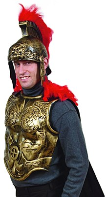 Roman Chest Plate And Cape