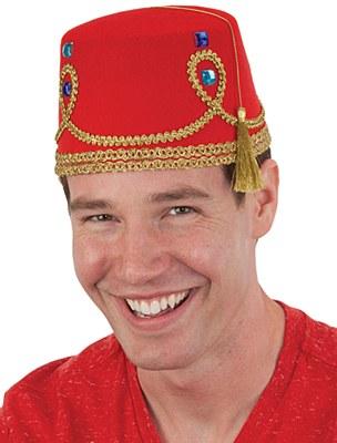 Decorated Fez Hat