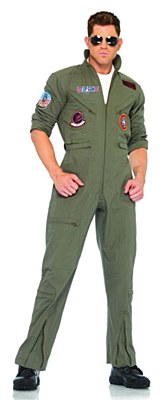Top Gun Flight Suit Adult Costume