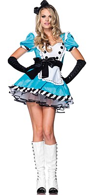 Charming Alice Adult Costume