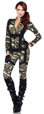 Pretty Paratrooper Adult Costume