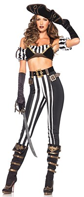 Black Beauty Pirate Adult Costume