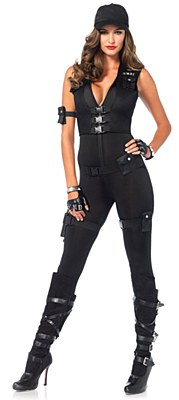 Swat Commander Deluxe Adult Costume