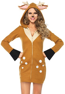 Cozy Fawn Deer Adult Costume