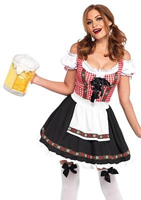 Beer Garden Babe Adult Costume